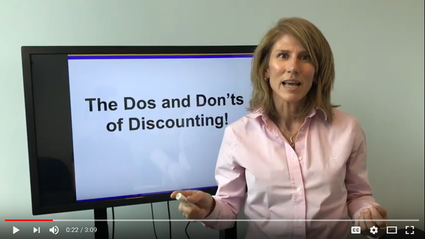 Discounting – Christmas Deals or Don'ts??