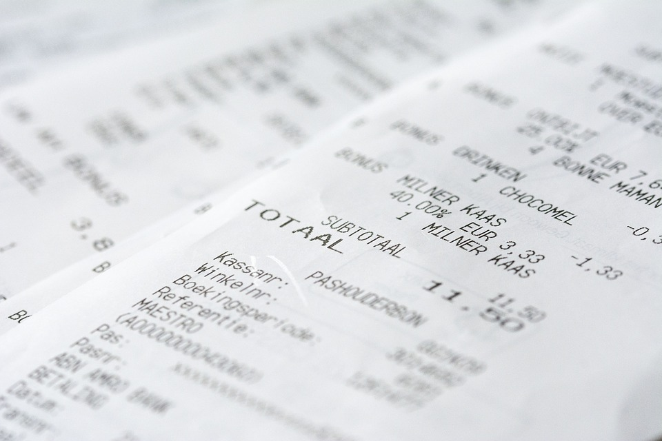 Subsistence Allowance – How to reduce that Mound of Receipts!